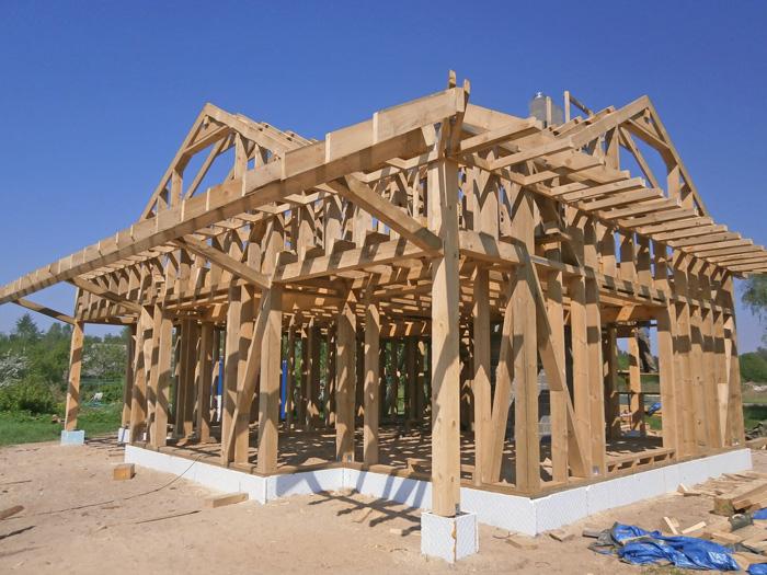 Buildart projektē koka statņu mājas