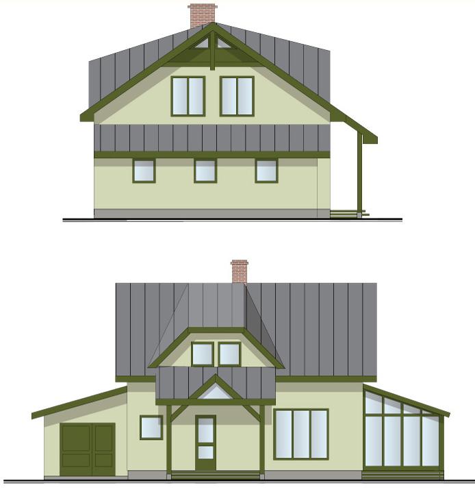 """Dzīvojamās mājas projekts """"Villa Agnese"""""""
