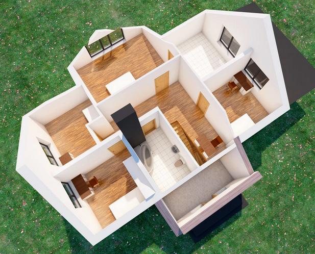 Mājas projekts Aleksandrs