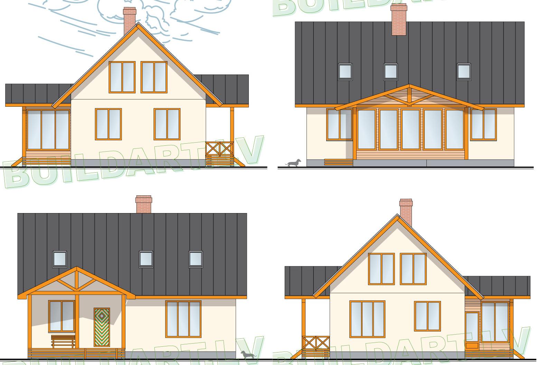 Mājas projekts Vineta