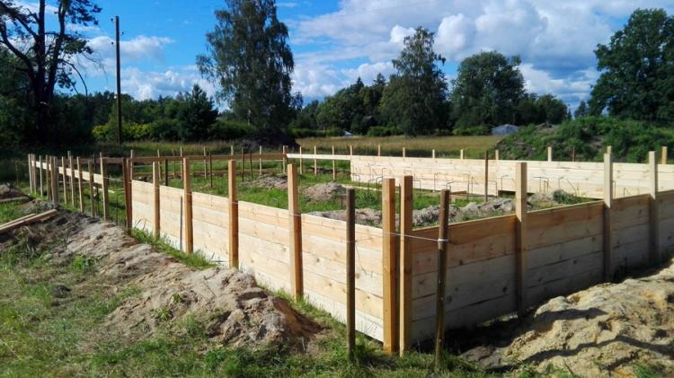 """Dzīvojamās mājas projekts """"Lauma"""", būvniecības procesa bildes"""