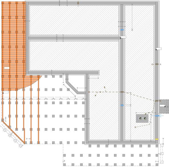 Mājas projekts Margarita - pamatu plāns