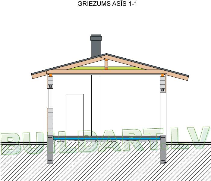 Galdnieka darbnīcas projekts - griezums