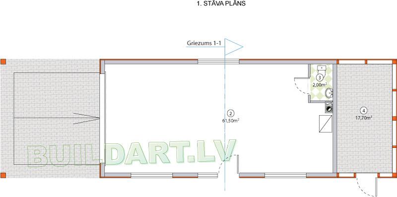 Galdnieka darbnīcas projekts - plāns