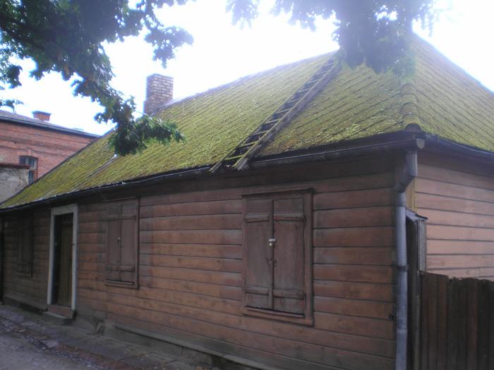 Rekonstrukcijas projekts, ēkas izskats pirms rekonstrukcijas