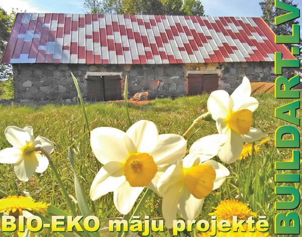 Bio-Eko māju projektē Buildart.lv