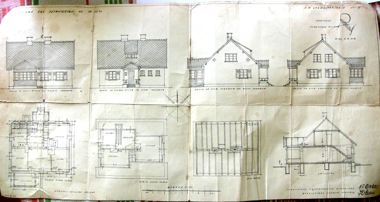 Sens, vecs mājas projekts