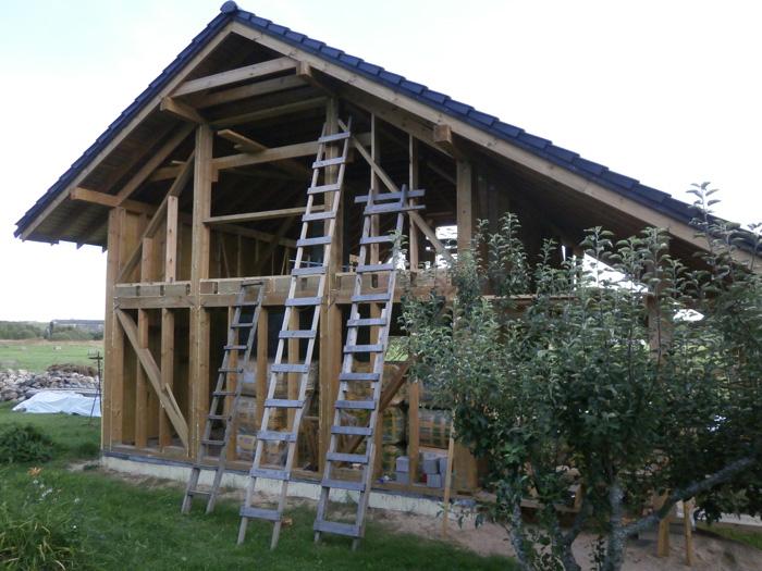 Pirts projekts - būvniecības procesa bildes