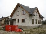Mājas projekts Dina, realizētās ēkas attēli