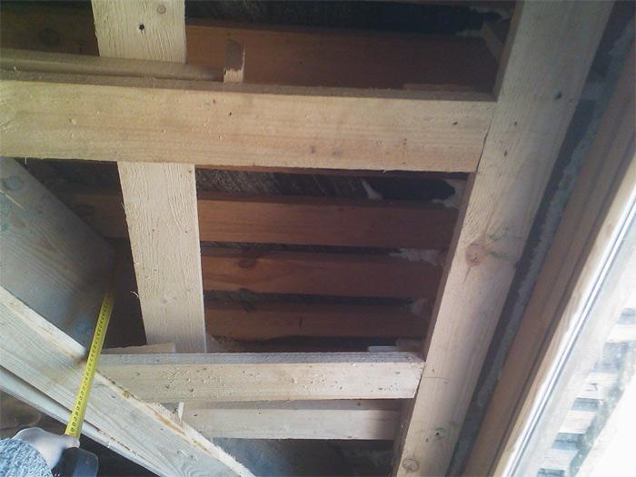 Jumta izbūves, siltināšanas process
