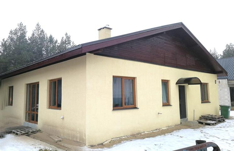 Projekts Artūrs, uzbūvētās mājas bildes