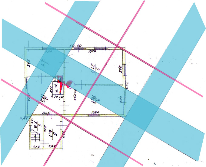 Āderu uzmērījums, āderu plāns zemes gabalam Engures novadā