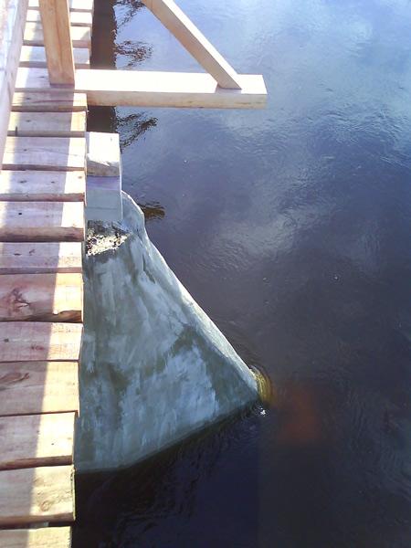 Tilta projekts, tilts pāri Gaujai