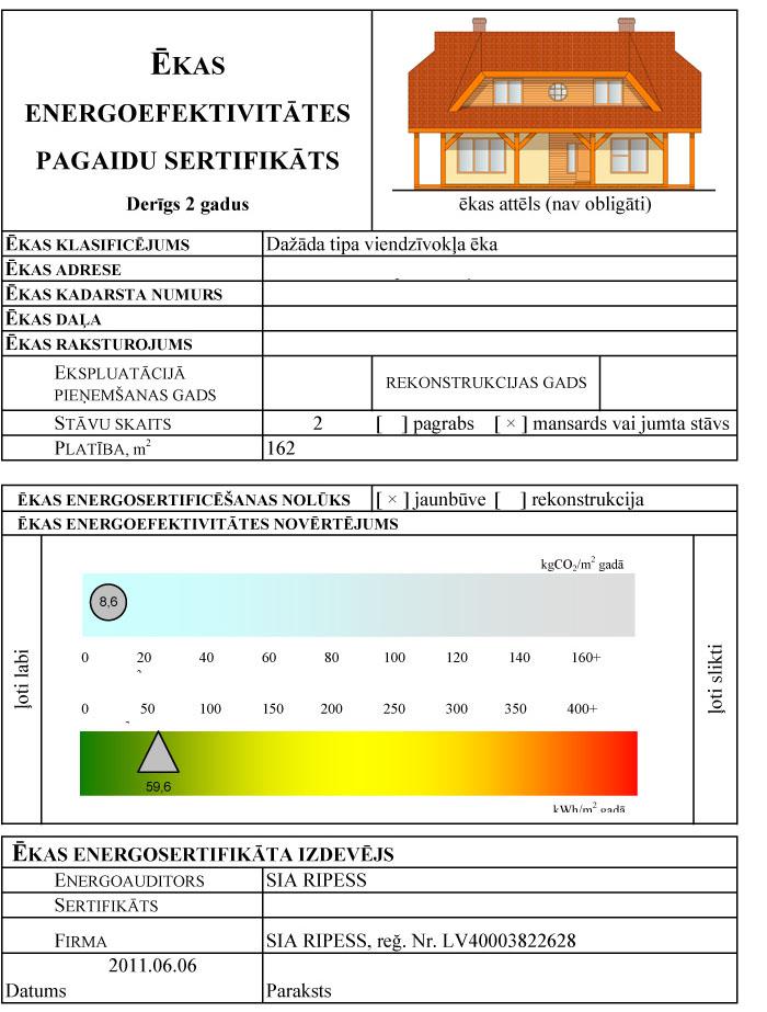 Pasīvās mājas energoefektivitātes aprēķins