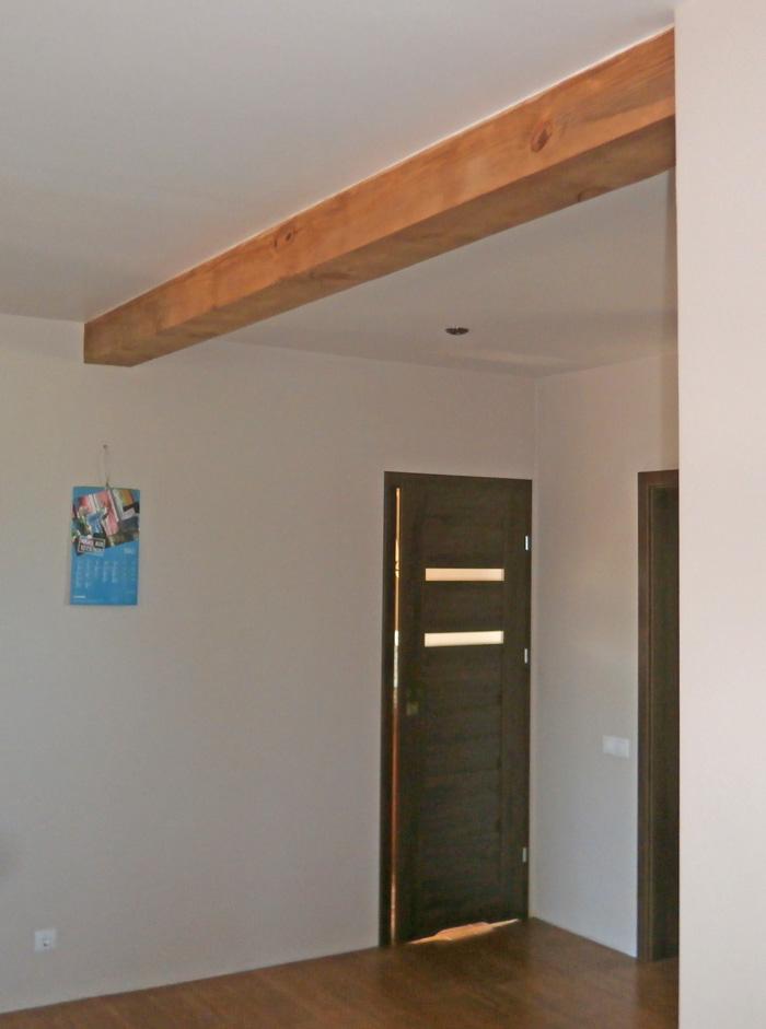 Ģimenes mājas projekts - realizētā ēka, interjera skati