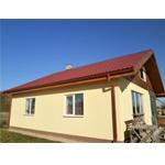 """Saimniecības ēkas projekts """"Edžus"""" - pagaidu dzīvojamā māja"""