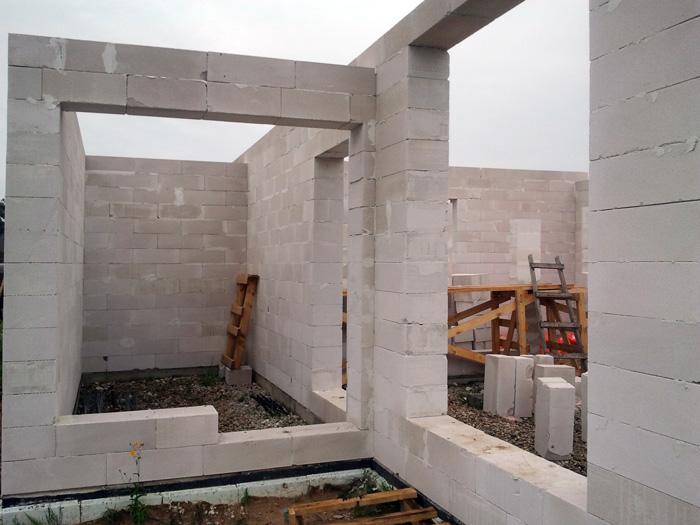 """dzīvojamās mājas projekts """"Rita 2"""" būvniecības procesa bildes"""