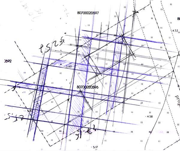Āderu uzmērijums zemes gabalam Ķekavā