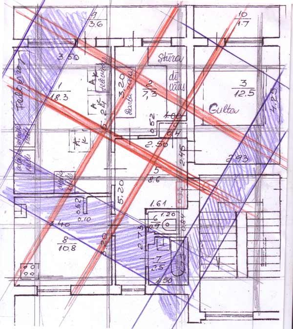 Dzīvoklis Jelgavā āderu plāns