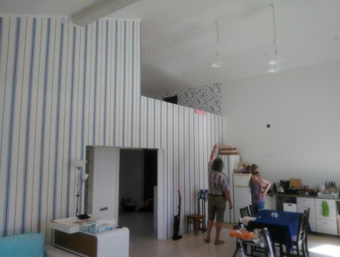 """Mājas projekts """"Eižens"""", uzbūvētās mājas bildes"""