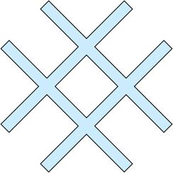 Akas zīme - simbols, ūdens āderu krustpunkts
