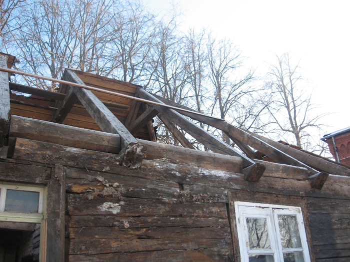 Rekonstrukcijas projekts, esošās ēkas konstrukciju demontāža
