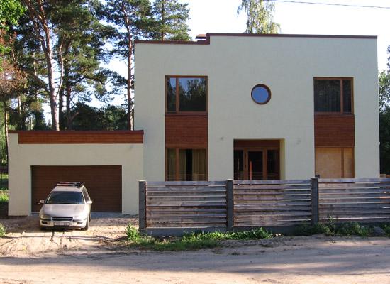 Ģimenes dzīvojamā māja, projekts, 170m2