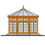 Oranžērijas projekts, fasāde