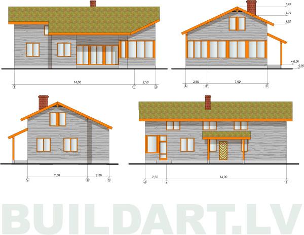Salmu mājas projekts