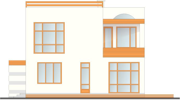Dzīvojamās mājas projekts, fasāžu versijas