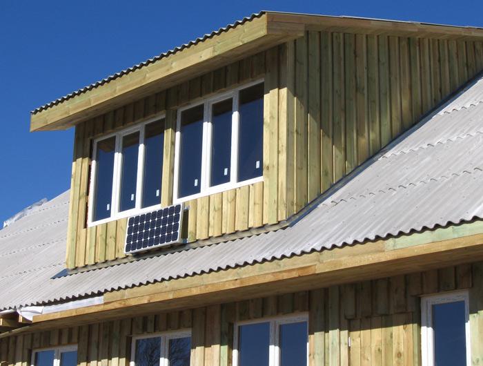 Saimniecības ēkas projekts, būvniecības process