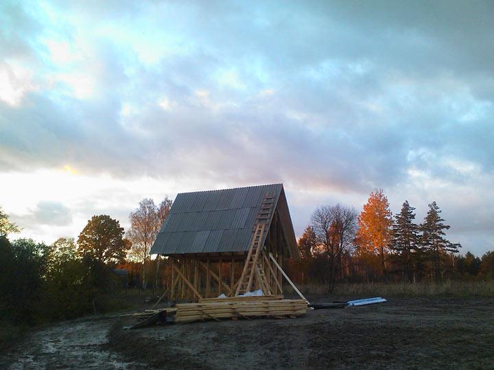 Sīkmājas projekts, būvniecības gaita