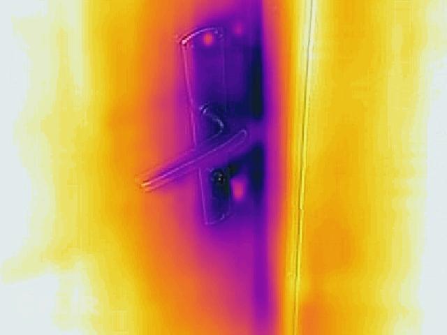 """Projekts """"Ansis"""" ēkas termogrāfija - aukstumtiltiņš - durvju atslēga"""