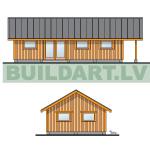 Saimniecības ēkas - šķūņa projekts, titulbilde