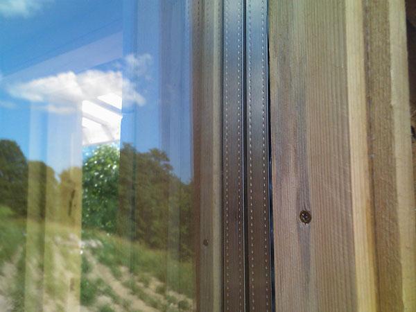 Sīkmājas logs - trīskārša stikla pakete
