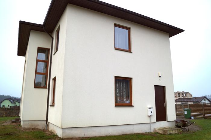 Savrupmājas projekts, māja 3 paaudzēm, realizētās ēkas foto