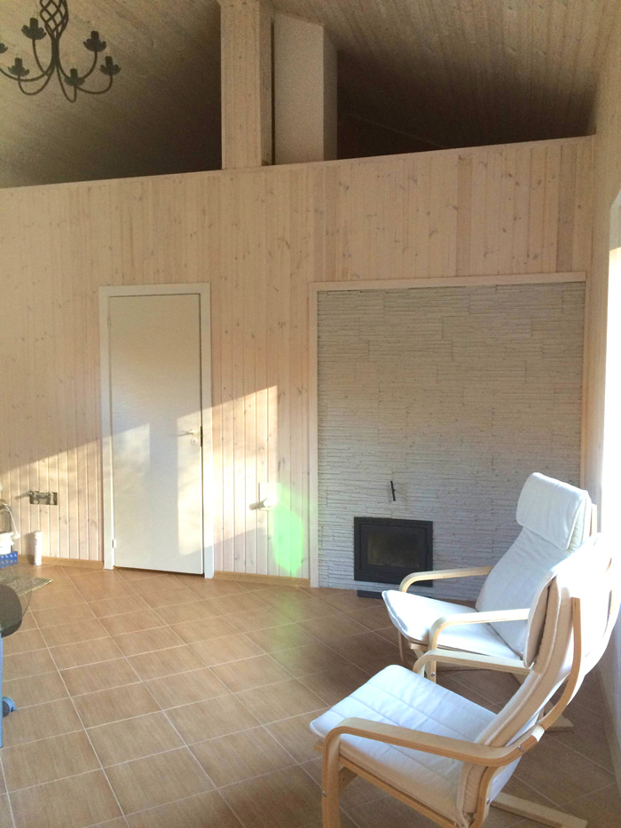 Rekonstrukcijas projekts - pirts un atpūtas telpas pie dzīvojamās mājas, uzbūvētās ēkas bildes