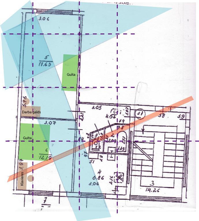 Āderu plāns dzīvoklim Rīgā, āderu noteikšana