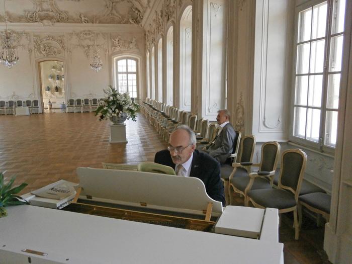 Andrejs Bubinduss, koncerts Rundāles pilī