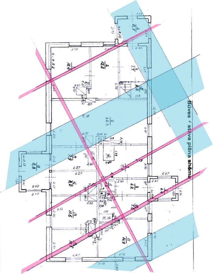 Āderu plāns mājai Valmierā