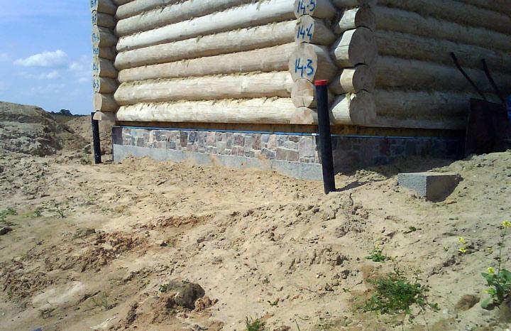 Guļbūves pirts projekts, būvniecības process