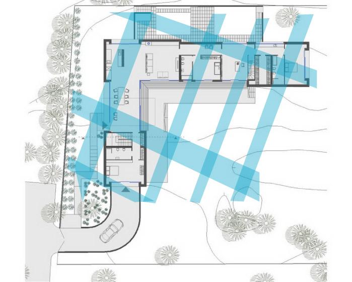 Āderu plāns mājai Jūrmalā