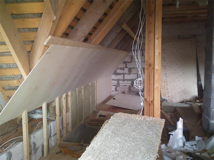 jumta siltināšanas process