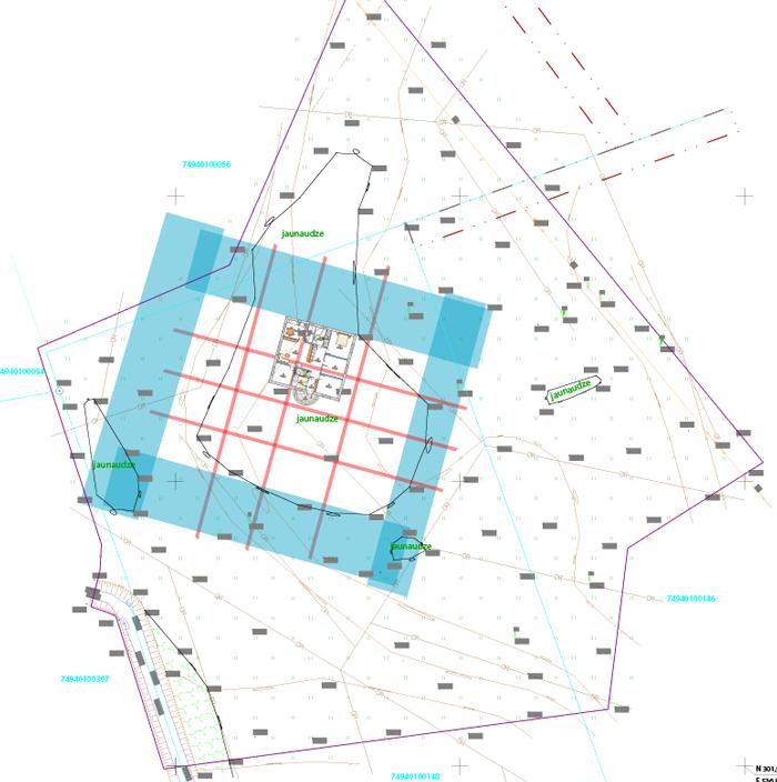 āderu plāns teritorijai Tīnūžos