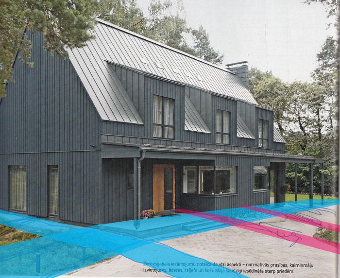 Āderu noteikšana mājai attālināti