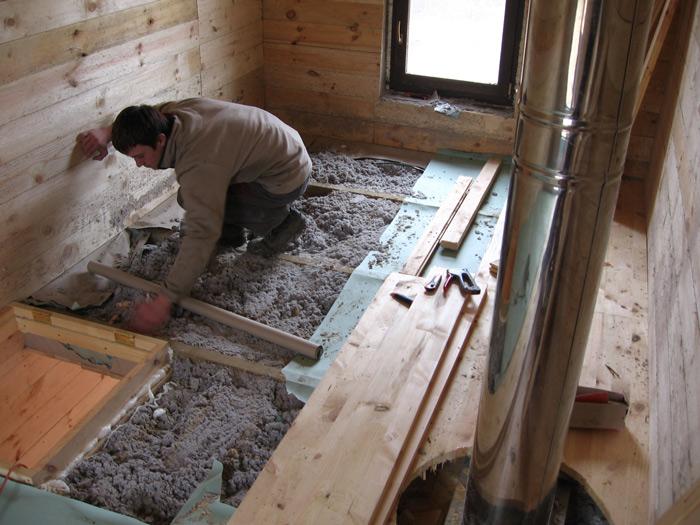 Sīkmājas projekts, būvniecības process