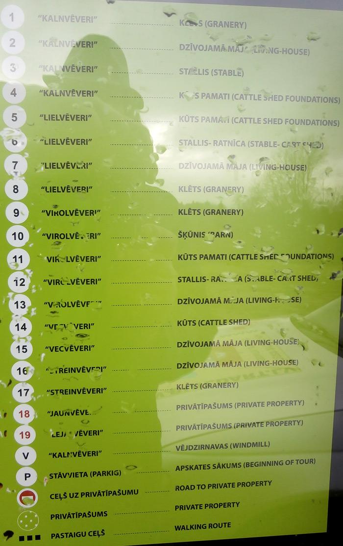 Ēku saraksts Vēveros