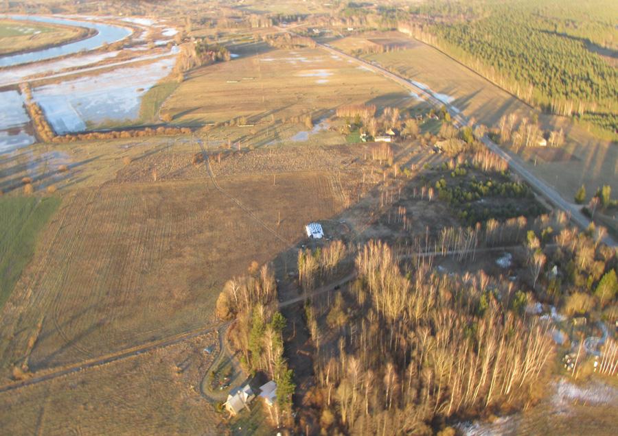 aerofoto - Latvijas ainava - Zemgale