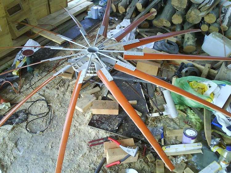 Spārnots rotors