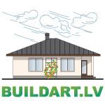 """Mājas projekts """"Valentīna"""", vienstāvīga māja ar garāžu"""